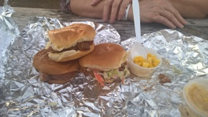 Little barbecue sandwiches form Gebby's